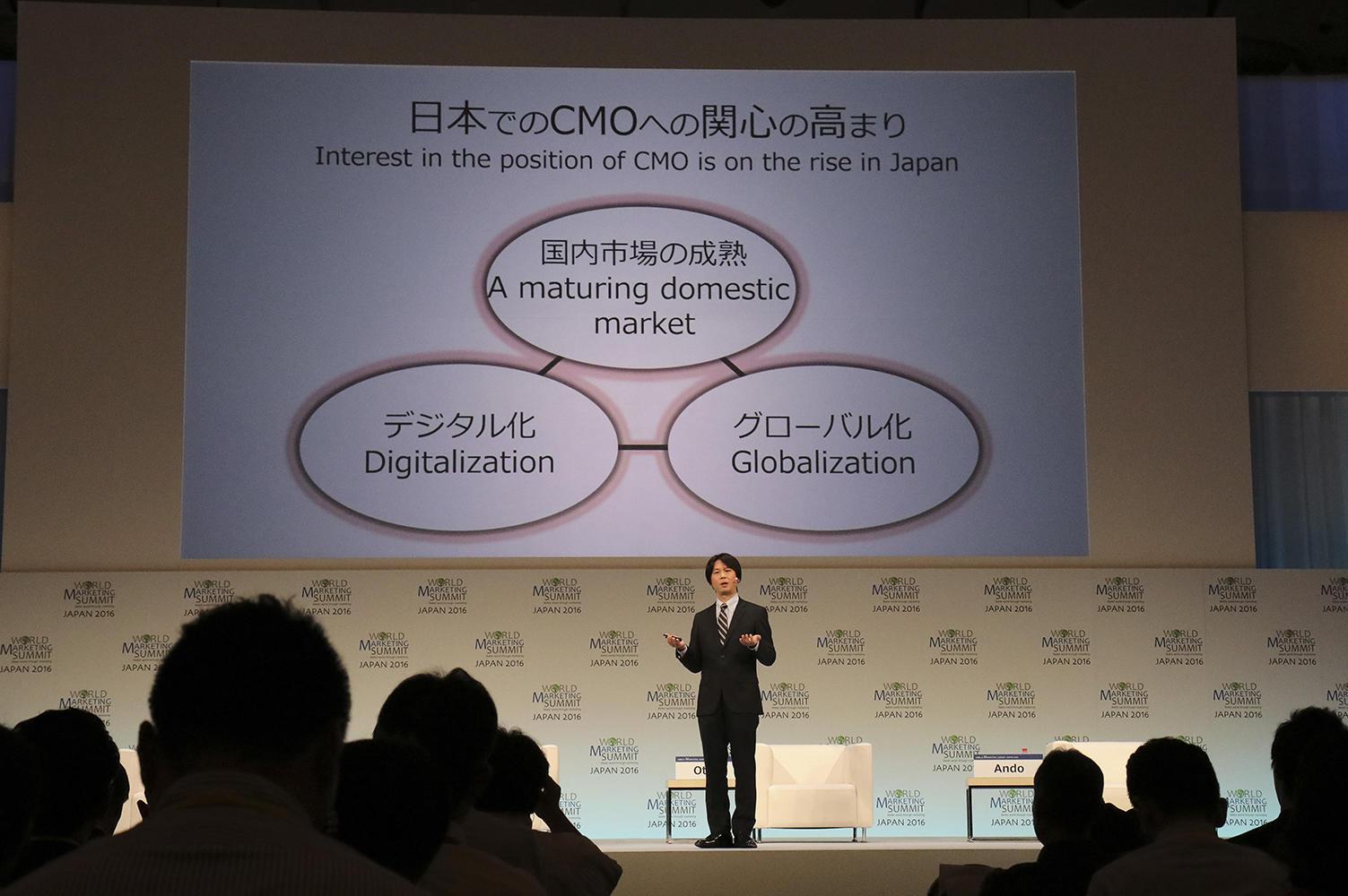 Hakuhodo hosts session at World Marketing Summit Japan